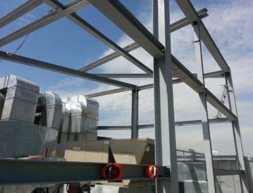 Esentai Mall Çatı Katı Çelik Konstrüksiyon ve Alüminyum Güneş Kırıcı
